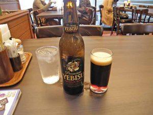 「ニューミュンヘン」にて黒ビール