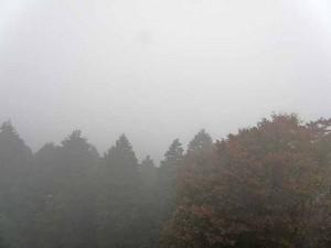 妙見山展望台から遠望