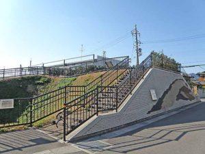 勝竜寺城土塁跡